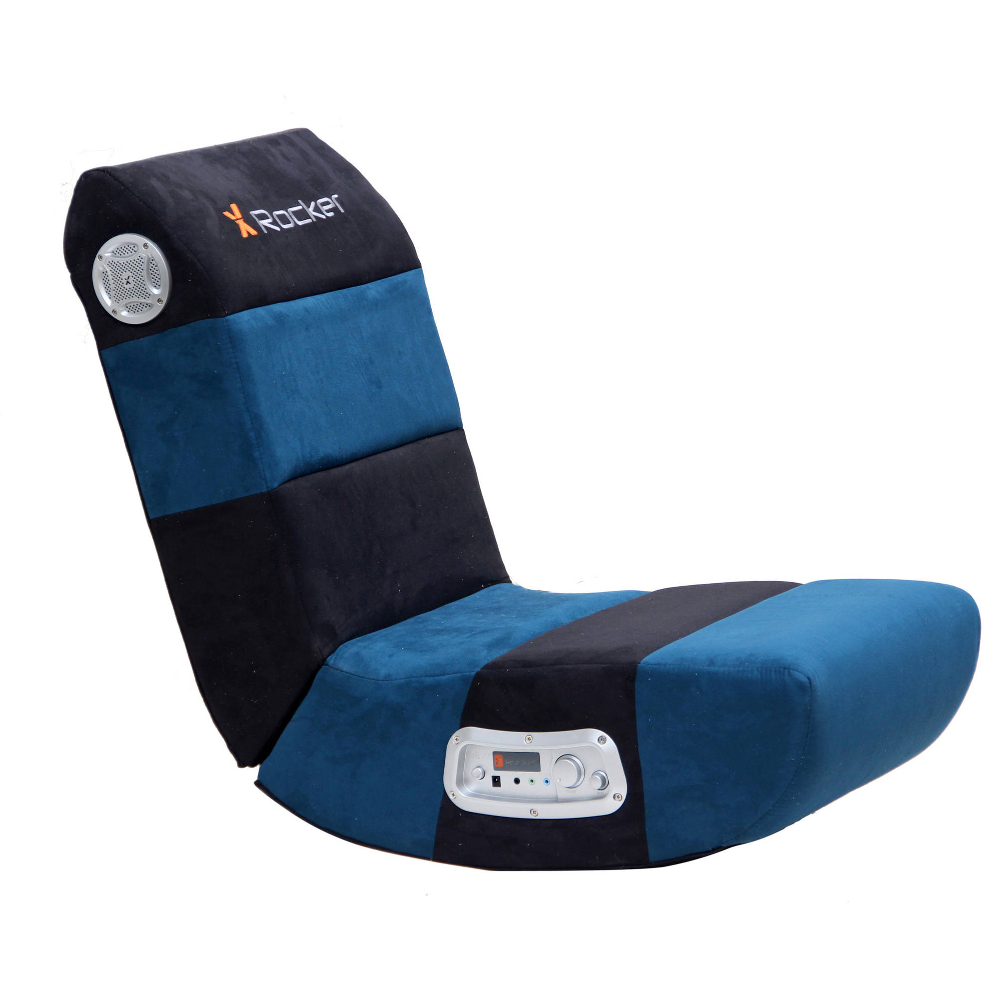 X Rocker 2.1 Wired Audio Chair, Black/Teal