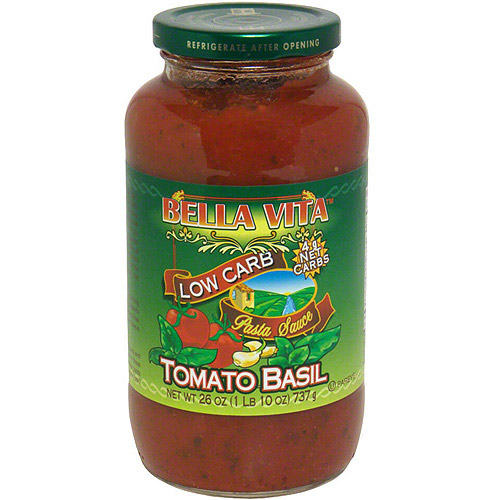 Bella Vita Tomato Basil Pasta Sauce, 26 oz (Pack of 6)