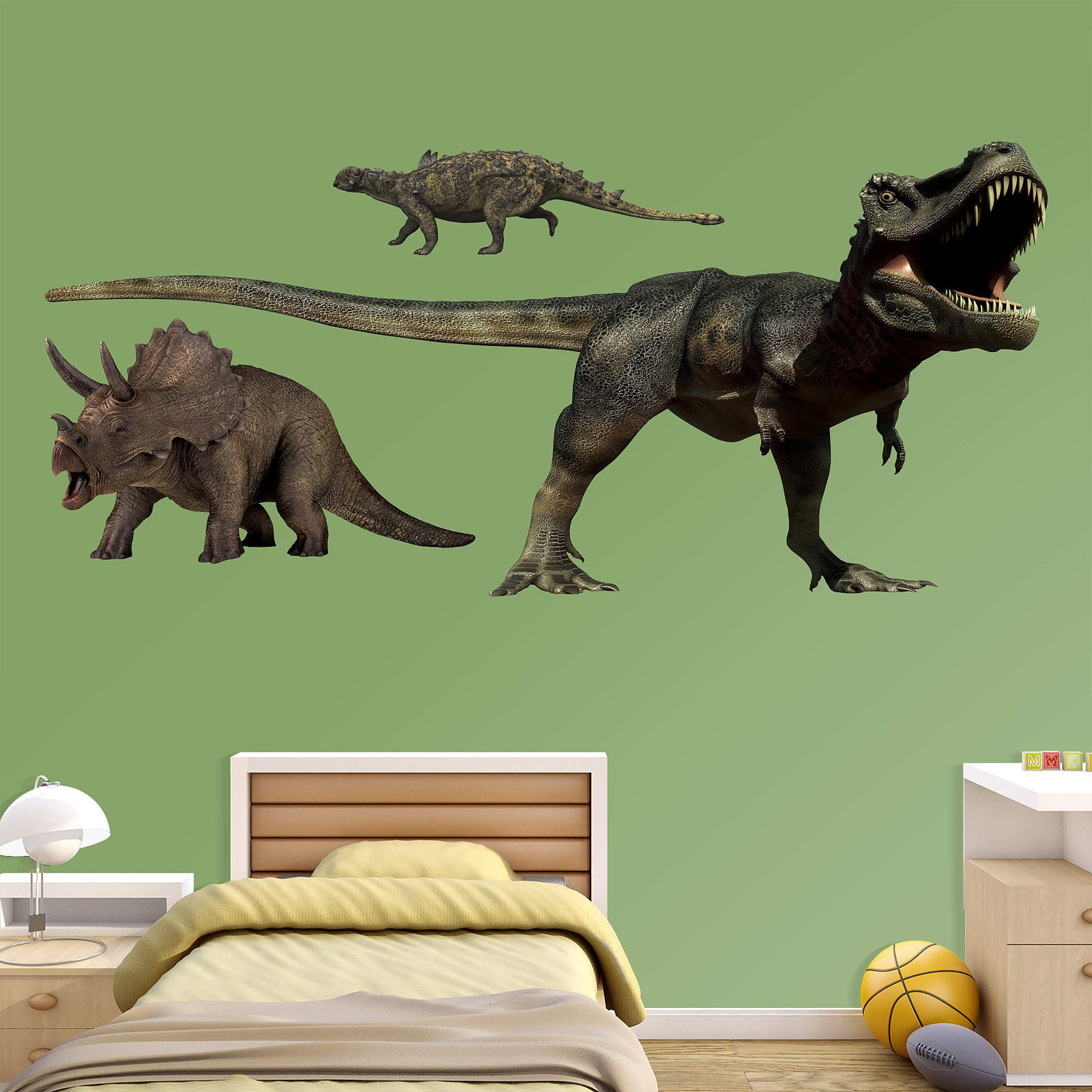 Fathead Dinosaurs Group Two Wall Decal