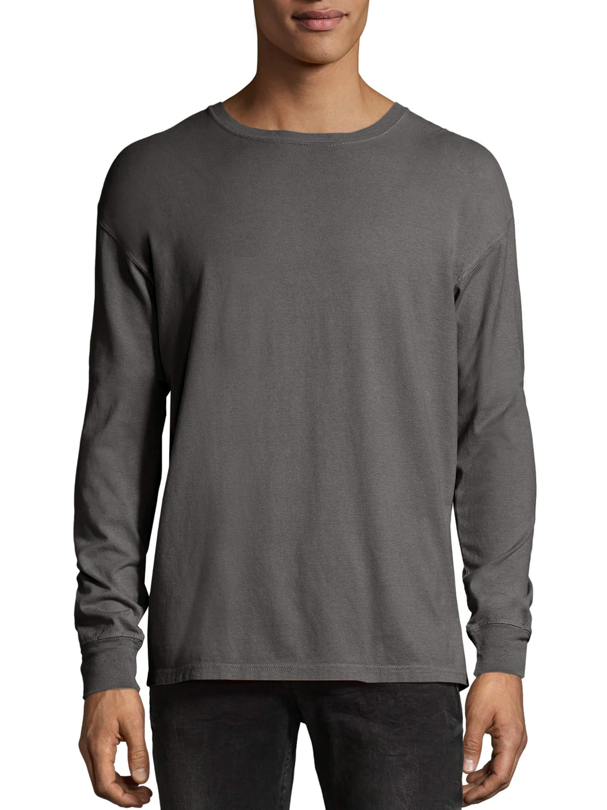 Big Men's ComfortWash Garment Dyed Long Sleeve Tee