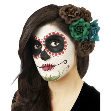 Day Of The Dead Costume Makeup Red Kit for $<!---->