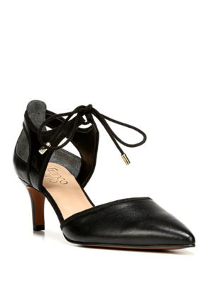 Womens Franco Sarto Darlis Lace Up Dress Pumps, Black