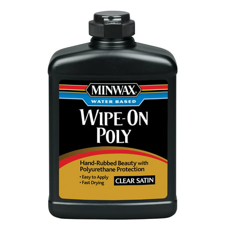Minwax® Water Based Wipe-On Poly Satin, 1-Pt