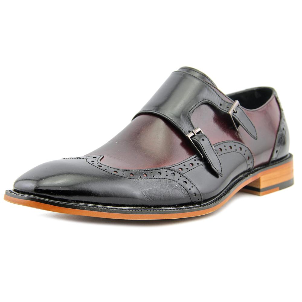 Stacy Adams Brewster Men Wingtip Toe Leather Black Loafer by Stacy Adams