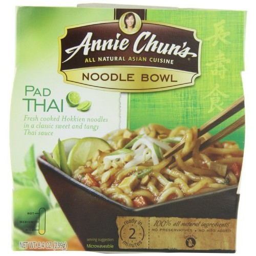 Annie Chun's Noodle Bowl, Pad Thai, 8.4 Ounce (Pack of 6)