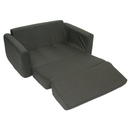 Kids Sofa Sleeper, Black