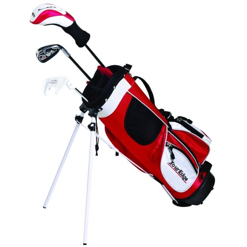 Tour Edge HT Max-J Junior Boys LH 4x1 Golf Set Age 5-8