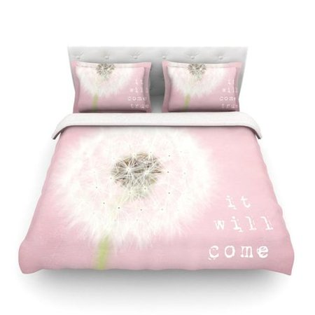 East Urban Home It Will Come True By Susannah Tucker Flower Featherweight Duvet Cover