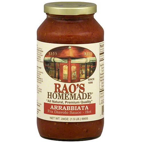 Rao's Homemade Hot Arrabbiata Fra Diavolo Sauce, 24 oz (Pack of 6)