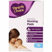 Parent's Choice Disposable Nursing Pads - 120 ct
