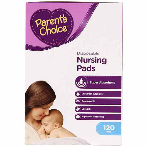 Parent's Choice Disposable Nursing Pads, 120 Count