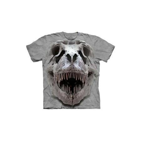 T-Rex Big Skull Big Boys T-Shirt Tee Carnivore T-rex Juniors T-shirt