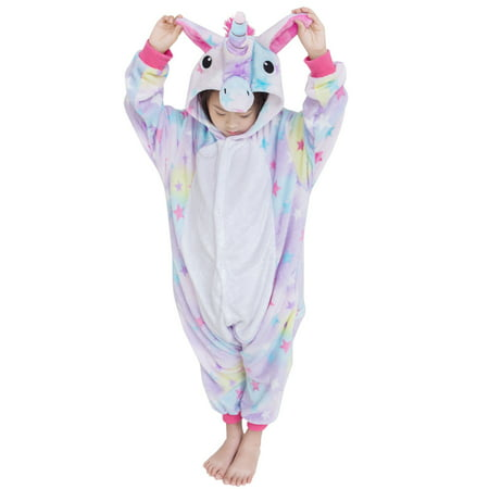 Unicorn Costumes Animal Onesies Sleeping Wear Pajamas Star S - Animal Onesies For Teens