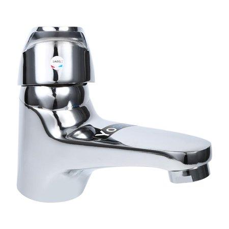 Ejoyous Bathroom Basin Sink Mono Mixer Tap Chrome Single Lever Taps Faucet Free Delivery Lever Basin Pillar Taps