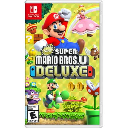New Super Mario Bros U Deluxe, Nintendo, Nintendo Switch, 045496592691 (Party City Mario Bros)