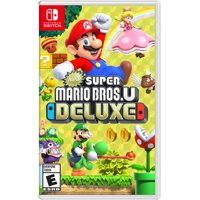 Deals on New Super Mario Bros U Deluxe Nintendo Switch HACPADALA
