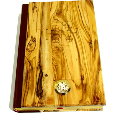Olive Wood covered Millennium Bible with