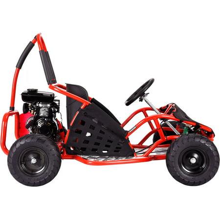 MotoTec Off Road Go Kart 79cc Black, (Non-CA Compliant)