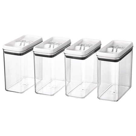 Better Homes & Gardens Flip-Tite Rectangular Container, 11.5 Cups - Set of (Better Homes And Gardens Owl Cookie Jar)