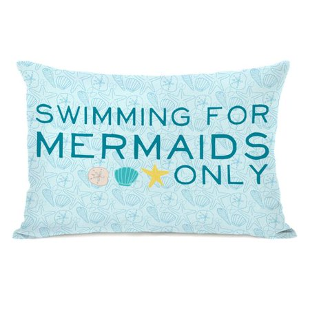 Mermaids Only (Highland Dunes Brehmer Swimming for Mermaids Only Lumbar)