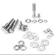 HERCHR Engine Repair Tool Hex Bolt Kit for Chevy 265 283 302 305 307 327 350 400 Engines, Engine Hex Bolt, Repair Bolt