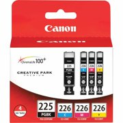 Canon PGI-225/CLI-226 4-Ink Color Pack, CMYB