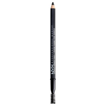 NYX Professional Makeup Eyebrow Powder Pencil, Black