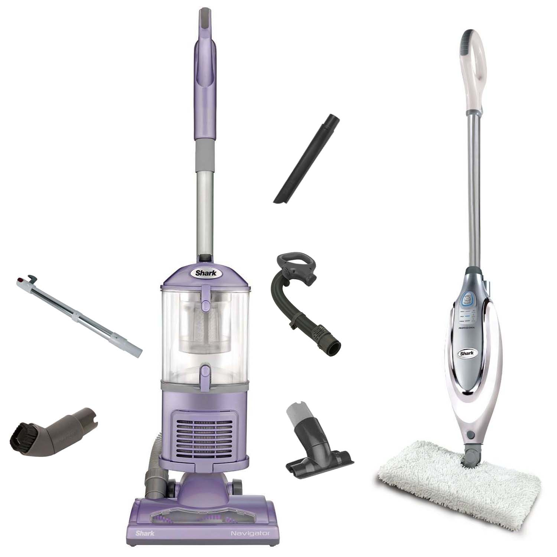 Shark Navigator Lift-Away Vacuum + Steam Pocket Mop (Certified Refurbished)