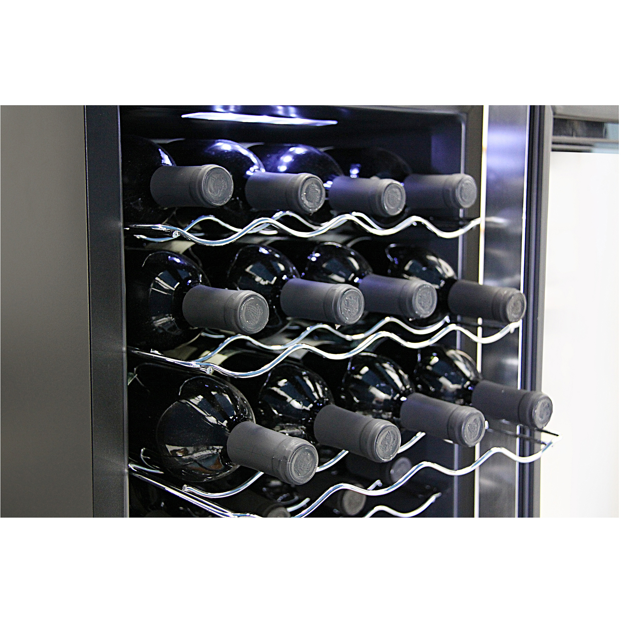 Whynter 20-Bottle Thermoelectric Wine Cooler, Black