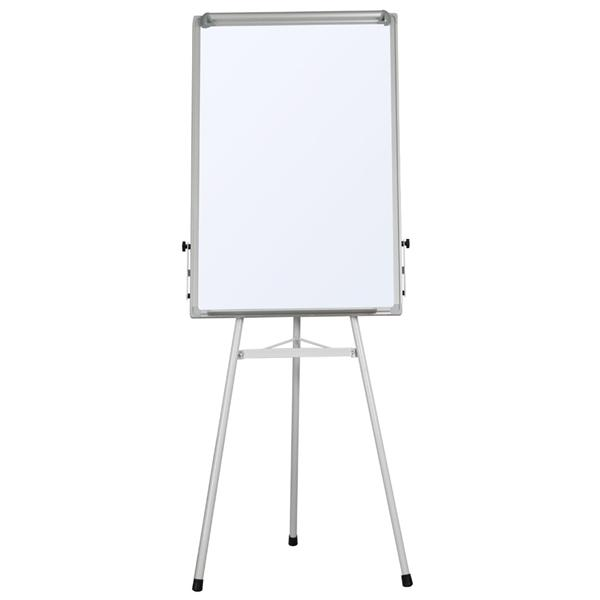 Portable Dry Erase Easel Magnetic White Board Dry Erase Board Tripod Whiteboard Flipchart Easel Height... by Yaheetech