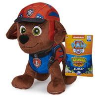 PAW Patrol, Dino Rescue Zuma, Stuffed Animal Plush Toy, 8 inch