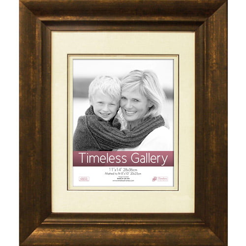 Timeless Frames Zach 11x14 Picture Frame, Fits 8x10 Photo by Timeless Frames