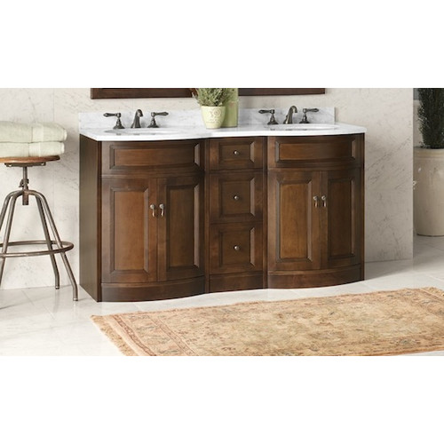 Ronbow Marcello 60'' Double Bathroom Vanity Set