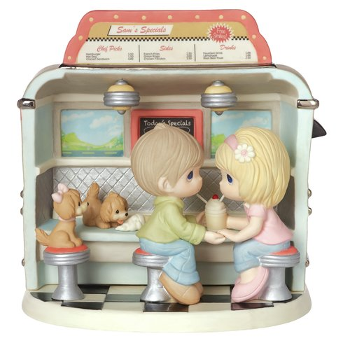 Precious Moments You Make My Heart Float Figurine