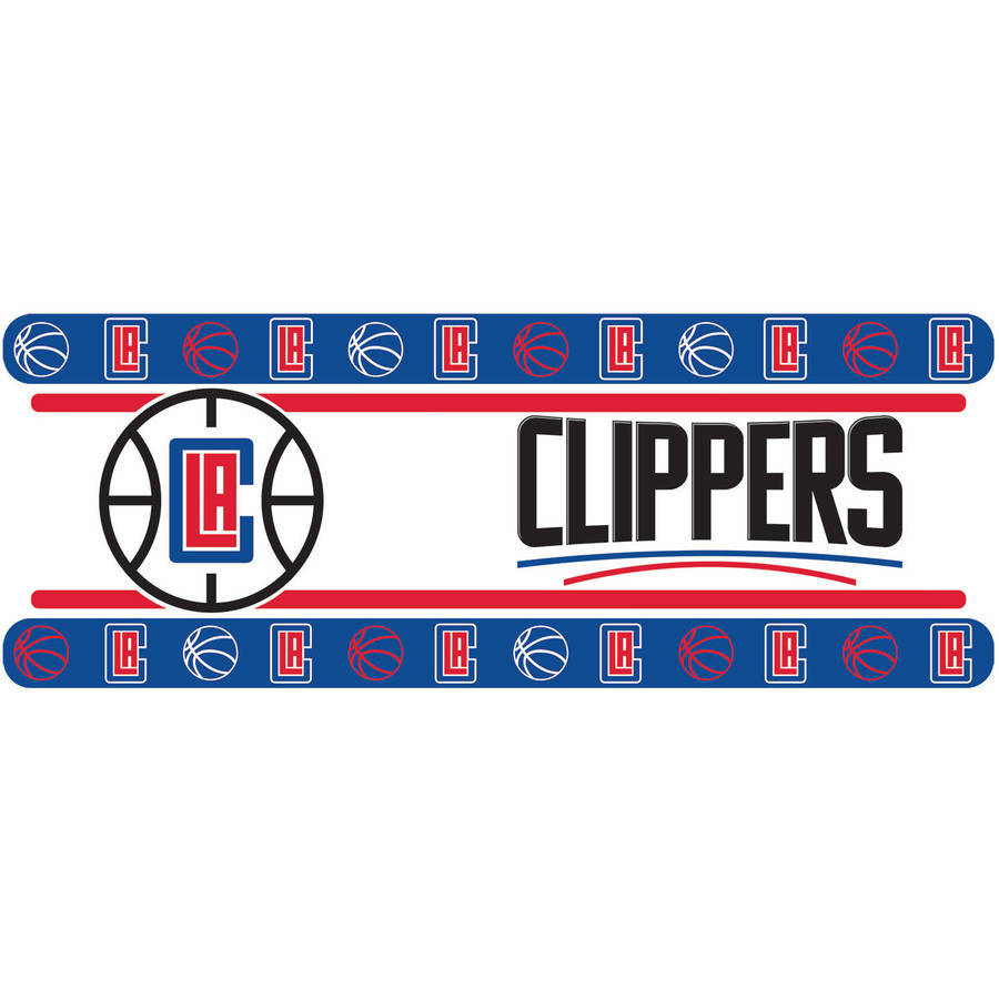 NBA Los Angeles Clippers Wall Border
