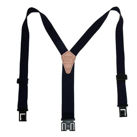 Perry Suspenders Men's Tall Elastic Hook End Suspenders - image 3 de 3