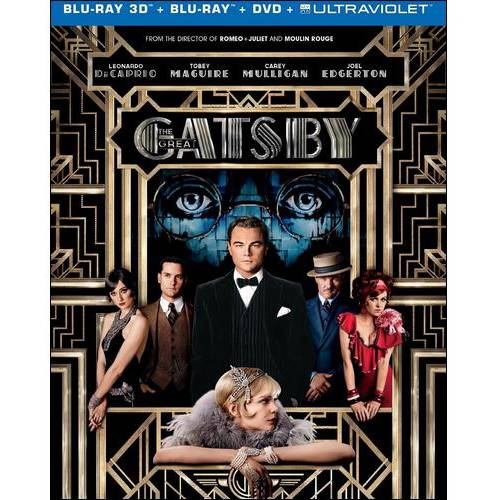 The Great Gatsby (3D Blu-ray + Blu-ray + DVD + UltraViolet) (Widescreen)