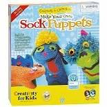 Creativity for Kids Make Your Own Sock Puppets Kit1.0 ea.(pack of 1) (Make Your Own Puppet)
