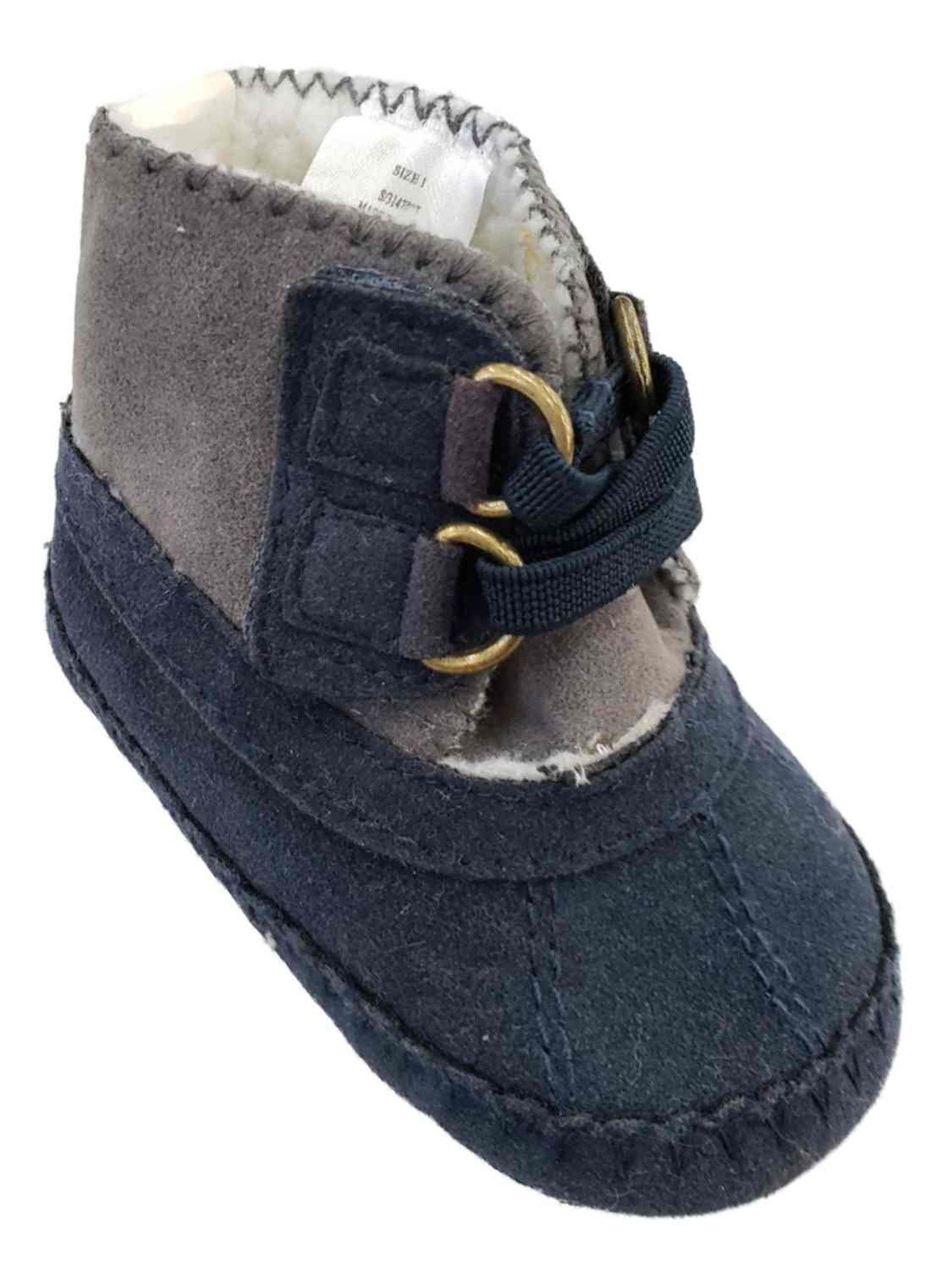 Infant Baby Boys Navy Blue \u0026 Grey Lined