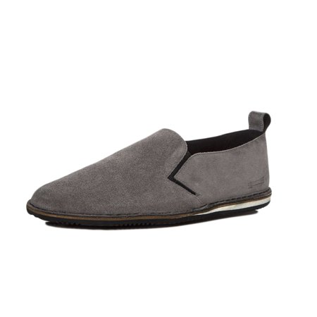 Uri Minkoff Men's Union Suede Slip On Sneakers US 9 Ash Grey Ash Slip On