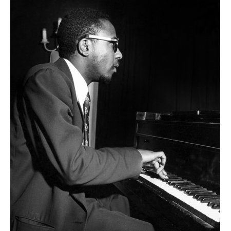 Thelonious Sphere Monk N(1917-1982) American Composer And Pianist Poster Print by Granger Collection