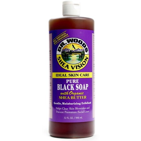 Dr. Woods Shea Vision Pure Black Soap with Organic Shea Butter 32 (Dr Woods Black Soap With Organic Shea Butter)