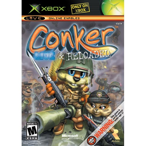 Microsoft Conker: Live and Reloaded Xbox
