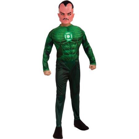 Morris costumes RU884576LG Green Lantern Sinestro Chld Lg - Green Lantern Costume Girl
