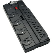 Tripp Lite TLP1208TEL Protect It! 12-Outlet Power Strip Surge Protector, 8-Foot Cord