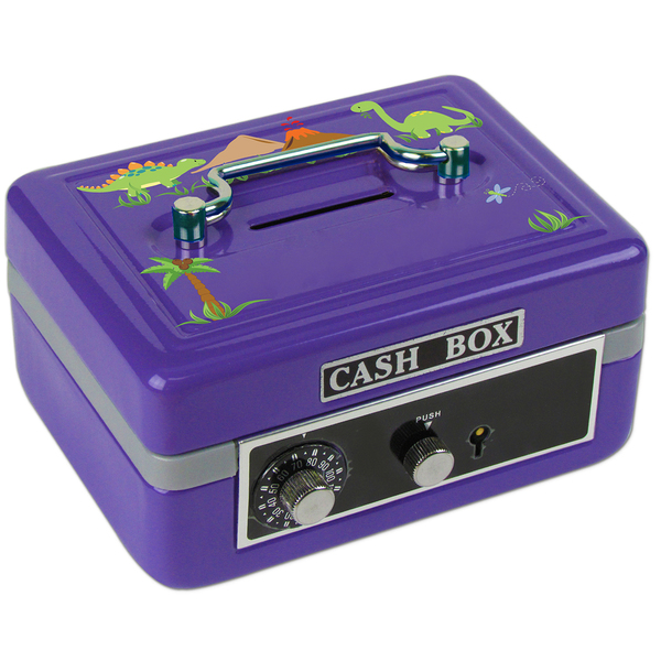 Personalized Dinosaurs Cash Box