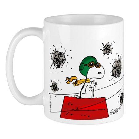 CafePress - Flying Ace Dodging Bullets Mug - Unique Coffee Mug, Coffee Cup CafePress ()