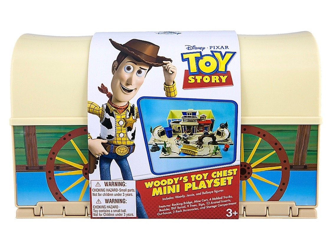Disney Parks Toy Story Woody's Toy Chest Play Set New with Box by