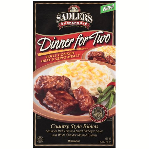 Sadler's Smokehouse Country Style Riblets Dinner For Two, 1.25 lb