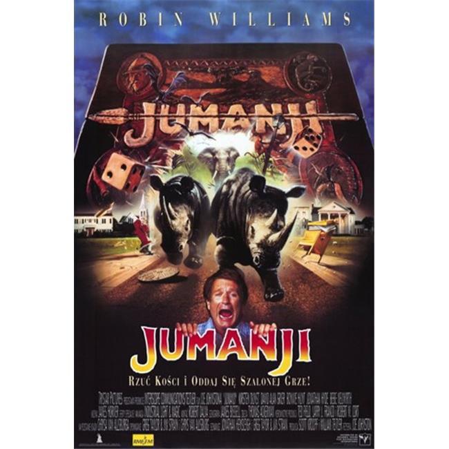Pop Culture Graphics MOV204077 Jumanji Movie Poster, 11 x 17 - image 1 de 1